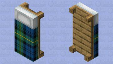 Tartan Bed Minecraft Mob Skin