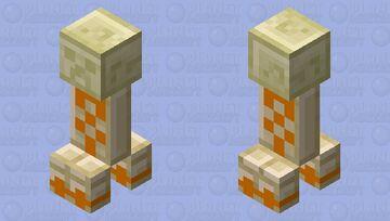 Desert Temple Creeper Minecraft Mob Skin