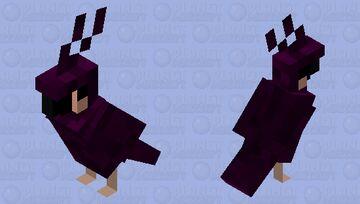 Purple Parrot Minecraft Mob Skin