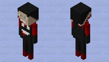 This creature killed me (he stole my head) Minecraft Mob Skin