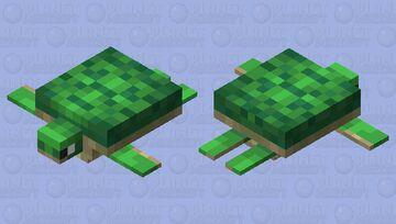 8-Bit Turtle Minecraft Mob Skin