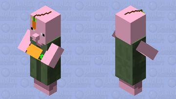 pig farmer Minecraft Mob Skin