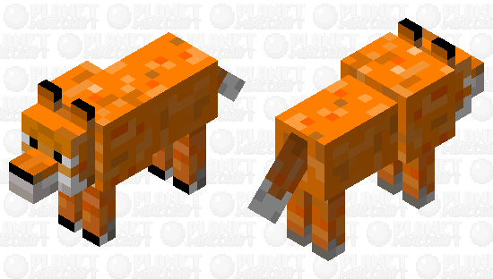 Fox or wolf Minecraft Skin