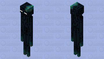 Warped Forest man Minecraft Mob Skin
