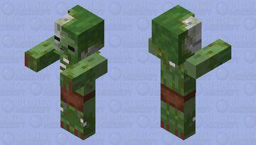 Zombie Zombieman Minecraft Mob Skin