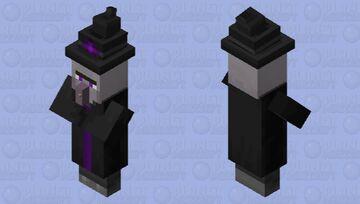 Ender Witch Minecraft Mob Skin