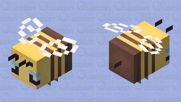 Cute lil bee Minecraft Mob Skin