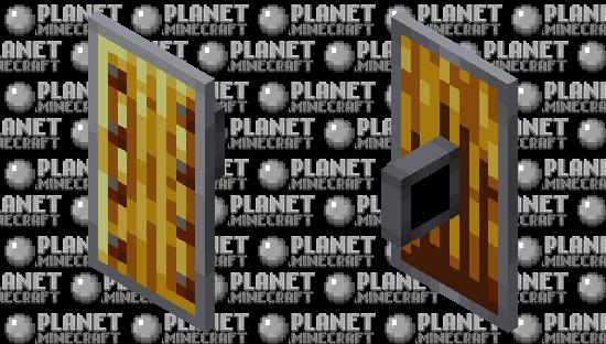 Gold Shield Minecraft Skin