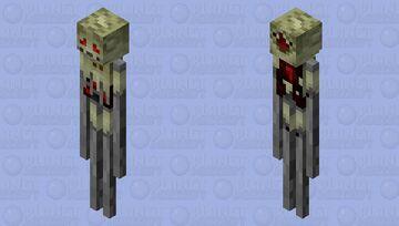 Fiddlesticks Enderman | League of Legends Minecraft Mob Skin