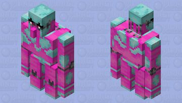 JJBA S5 Crazy Diamond Minecraft Mob Skin