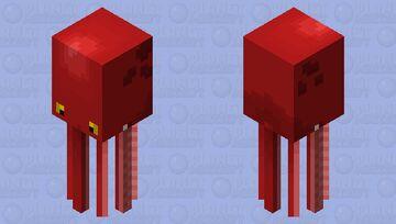 Squid Octopus Minecraft Mob Skin