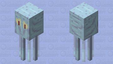Squidsquid - Spongebob Squarepants - Squidward - Squid Redo - poppy-reel Minecraft Mob Skin