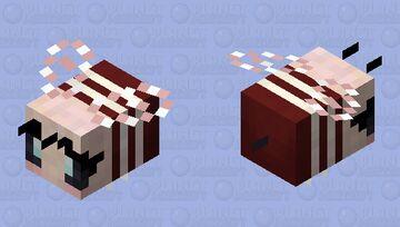 Soft fall bee Minecraft Mob Skin