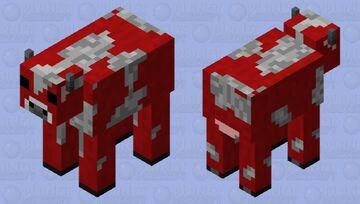 Mooshroom Minecraft Mob Skin