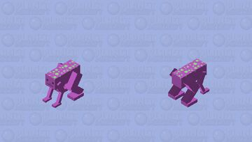 Motivational Lizard Minecraft Mob Skin