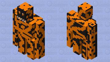 magma golem Minecraft Mob Skin