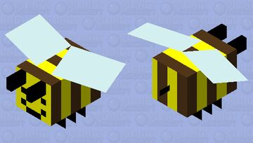 Adventure time bee Minecraft Mob Skin