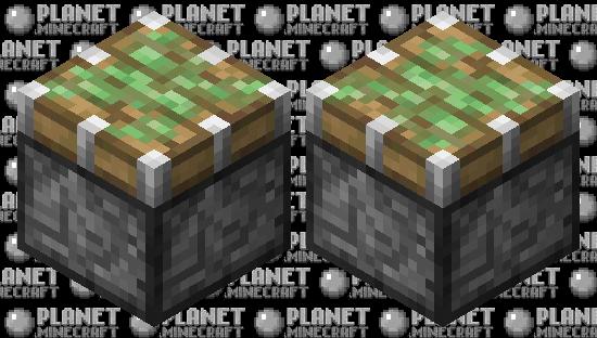 sticky piston Minecraft Skin