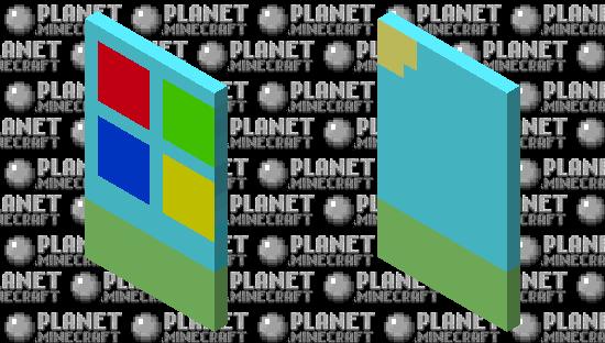 Windows Cape Minecraft Skin