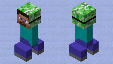 creeper in a steve costume Minecraft Mob Skin