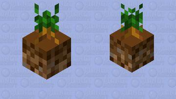 Carrot Bobber Minecraft Mob Skin