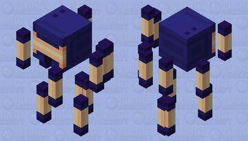 GL-ow1 Impostor Minecraft Mob Skin