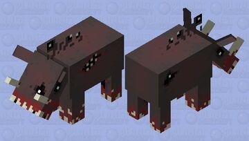 Nether Demon Minecraft Mob Skin