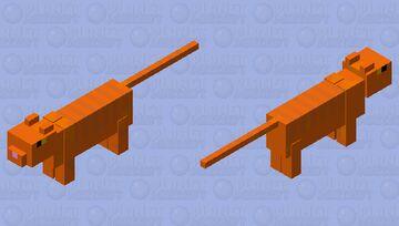Crookshanks (Hermione's cat) Minecraft Mob Skin