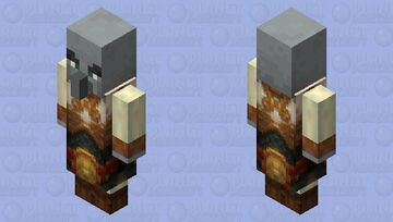 Mage Evoker   Version 3   HD 2x Minecraft Mob Skin