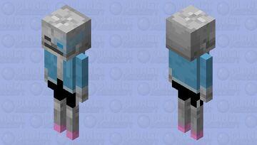 *megalovania intensifies* Minecraft Mob Skin