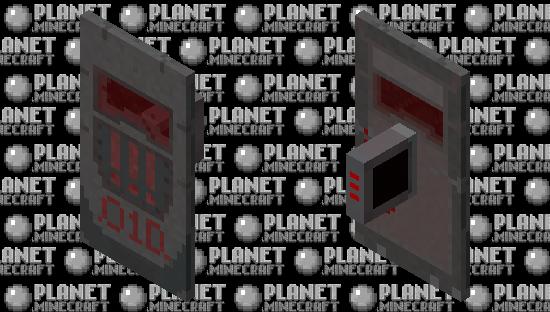 Dark future shield Minecraft Skin