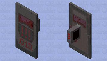 Dark future shield Minecraft Mob Skin