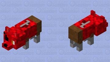Foxy Bedrock Minecraft Mob Skin