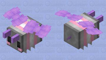 Demigirl bee! Minecraft Mob Skin