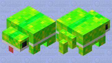 Chamaleon lizard Minecraft Mob Skin