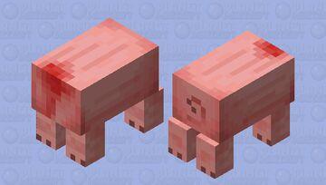 The butcher's shop. Minecraft Mob Skin