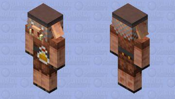 Piglin Beekeeper Minecraft Mob Skin