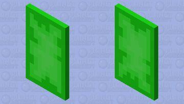 Iskallium Cape Minecraft Mob Skin