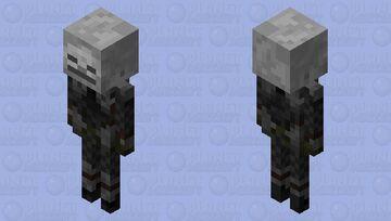 Skeleton Assassin Minecraft Mob Skin