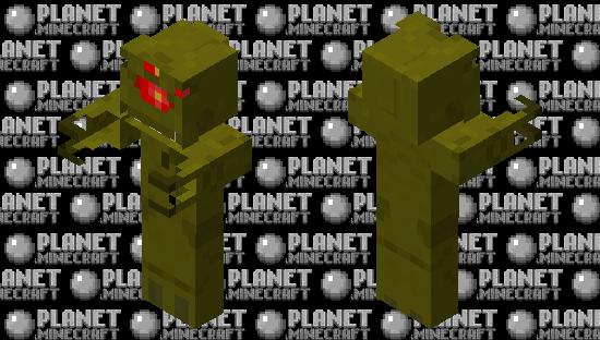 Vortigaunt Minecraft Skin