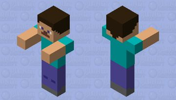 Another Steve just normal steve Minecraft Mob Skin