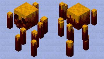Blaze Reimagined Minecraft Mob Skin