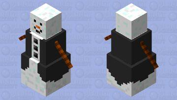 snow man Minecraft Mob Skin