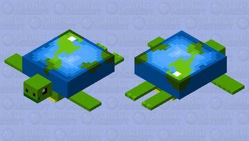 PMC 10th Anniversary Turtle Minecraft Mob Skin