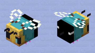 The Great Sans-bee Minecraft Mob Skin