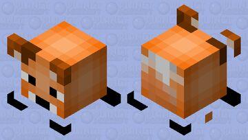 Baby Fox Minecraft Mob Skin