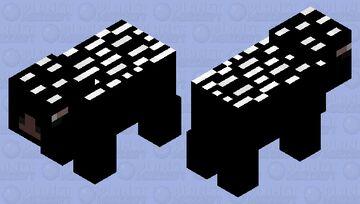 Crested Porcupine Minecraft Mob Skin