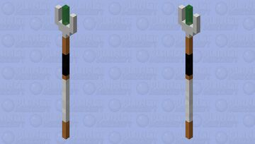 11th Doctor's Sonic Screwdriver Minecraft Mob Skin