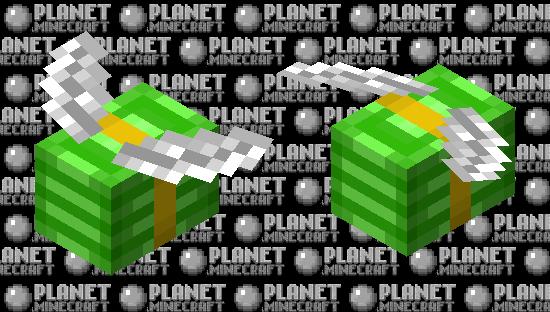Flying Money Minecraft Skin