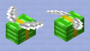 Flying Money Minecraft Mob Skin
